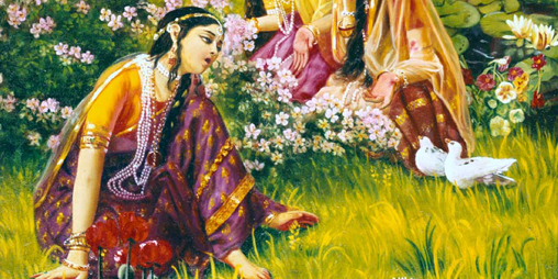 Radharani's Mood of Separation