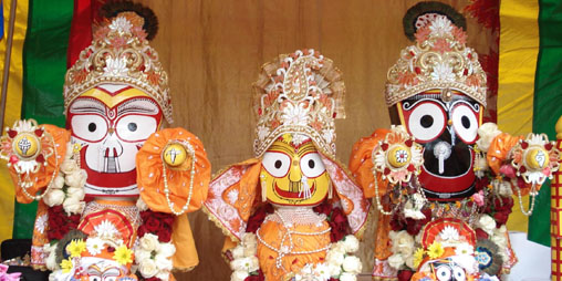 Baladeva, Subhadra, Jagannatha